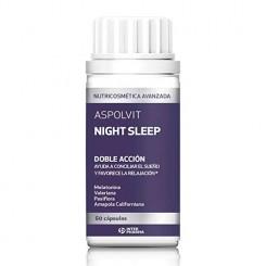 ASPOLVIT NIGHT SLEEP 60 CAPSULAS