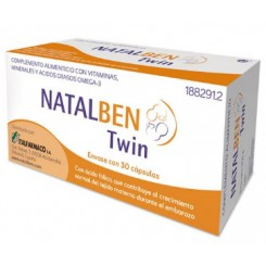 NATALBEN TWIN 30 CAPSULAS
