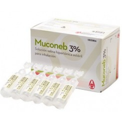 MUCONEB 3% SOLUCION SALINA CLNA 30 AMP