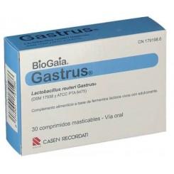 GASTRUS 30 COMPRIMIDOS MASTICABLES