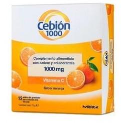 CEBION 1000 12 SB GRANULADOS SOL.ORAL.