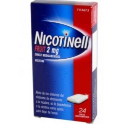 NICOTINELL FRUIT 2MG 24 CHICLES