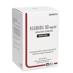 REGAXIDIL 50 MG/ML SOLUCION CUTANEA 2 FRASCOS 60