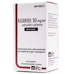 REGAXIDIL 50 MG/ML SOLUCION CUTANEA 1 FRASCO 60