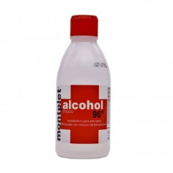 ALCOHOL 96º MONTPLET 1 FRASCO 250 ML