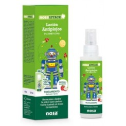 NOSA ATTACK LOCION ANTIPIOJOS 5% DIMETICONA 100ML