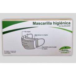 Mascarilla Higienica No Reutilizable 50 unidades Enviromental
