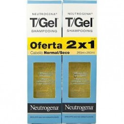 T-GEL CHAMPU ANTICASPA SECO Y NORMAL 250 ML