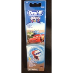 ORAL-B STAGES POWER RECAMBIO CARS 2 UNIDADES