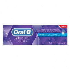 ORAL B PASTA 3D WHITE LUXE BRILLO SALUDABLE 75ML