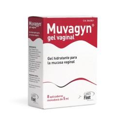 MUVAGYN 5 ML 8 TUBOS HIDRATANTE VAGINAL GYNEA