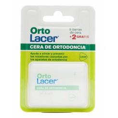 ORTOLACER  CERA ORTODONCIA 5  + 2  BARRAS