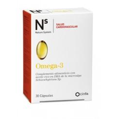 N+S OMEGA-3 SALUD CARDIOVASCULAR 30 CAPS