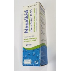 NASALKID NASAL SPRAY HYALURONIC 20 ML