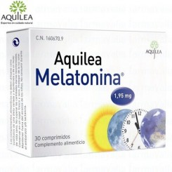 AQUÍLEA MELATONINA 1,95 mg.   30 comp