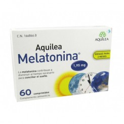 Aquílea melatonina 1,95  mg   30 comp