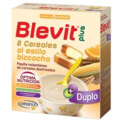 BLEVIT PLUS DUPLO 8 CEREALES AL BIZCOCHO 600 G