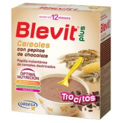 BLEVIT PLUS CEREALES Y PEPITAS DE CHOCOLATE 600