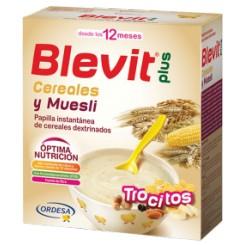 BLEVIT PLUS CEREALES trocitos MUESLI 600 G