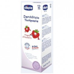 CHICCO DENTIFRICO FRESA + 12 MESES  50 ML