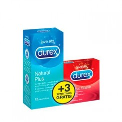 DUREX EASY ON NATURAL PLUS 12 UNID