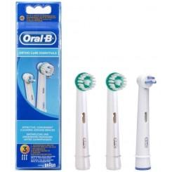 ORAL-B RECAMBIO ORTHO CARE ESSENTIALS 3 UDS.