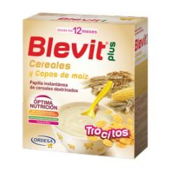 BLEVIT PLUS TROCITOS CEREALES Y COPOS MAIZ 600 G