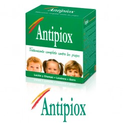Antipiox pack champu y locion pediculicida