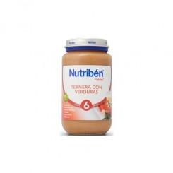 NUTRIBEN TERNERA CON VERDURAS 250 G.
