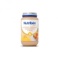 NUTRIBEN PLATANO NARANJA MANDARINA Y PERA 250 G