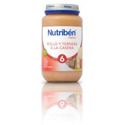 NUTRIBEN POLLO TERNERA CASERA 250 G