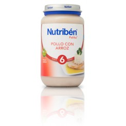 NUTRIBEN JUNIOR POLLO CON ARROZ 250 G.