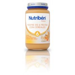 NUTRIBEN POSTRE 6 FRUTAS CEREALES 250 G