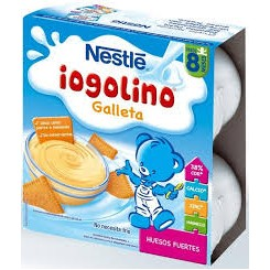 NESTLE IOGOLINO GALLETA 4 X 100 G