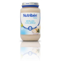 NUTRIBEN JUNIOR MERLUZA CON ARROZ 250 G.