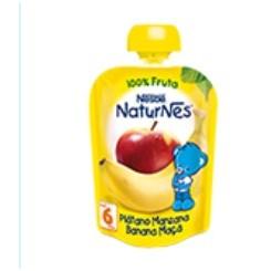 NESTLE NATURNES PLATANO MANZANA 100% FRUTA 90 G