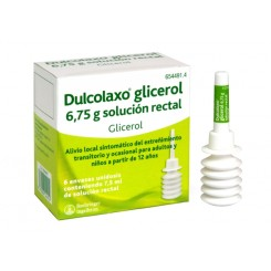 DULCOENEMA ADULTO 5.4 ML SOLUC. RECTAL GLICERINA
