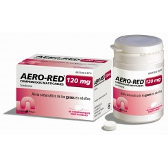 AERO RED 120 MG 40 COMP EFP