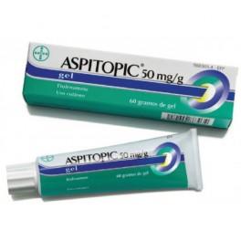 ASPITOPIC 50 MG/G GEL TOPICO 60 G