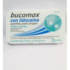 BUCOMAX CON LIDOCAINA MENTA 8 PATILLA