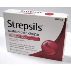 STREPSILS 24 PASTILLAS PARA CHUPAR CIRUELA