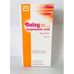 DALSY SUSPENSION 200 ML.