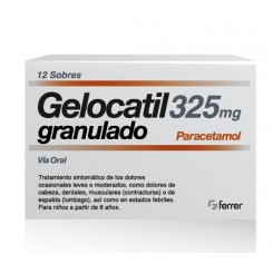 GELOCATIL 325 MG 12 SOBRES GRANULADO