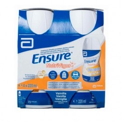 ENSURE NUTRIVIGOR BOTELLA 4 BOTELLA 220 ML VAINI