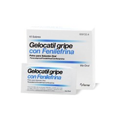 GELOCATIL GRIPE FENILEFRINA