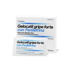 GELOCATIL GRIPE FORTE SOBRES