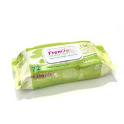 TOALLITAS FREELIFE BEBE CAH SENSITIVE 72 UDS