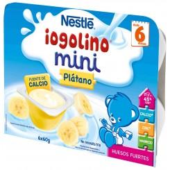 NESTLE IOGOLINO MINI PLATANO 60 G 6 TARRINAS