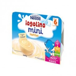 NESTLE IOGOLINO MINI NATILLAS 60 G 6 TARRINAS