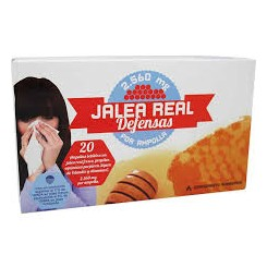 JALEA REAL DEFENSAS DERNOVE AMPOLLAS 10 ML 20 AM